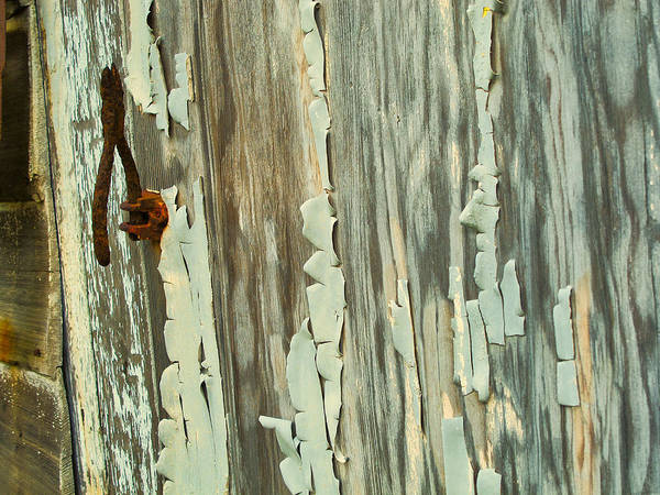 The Peeling Wall Art Print