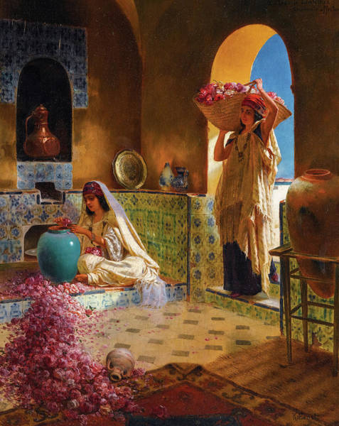 Wall Art - Painting - The Perfume Makers, 19th Century by Rudolf Ernst