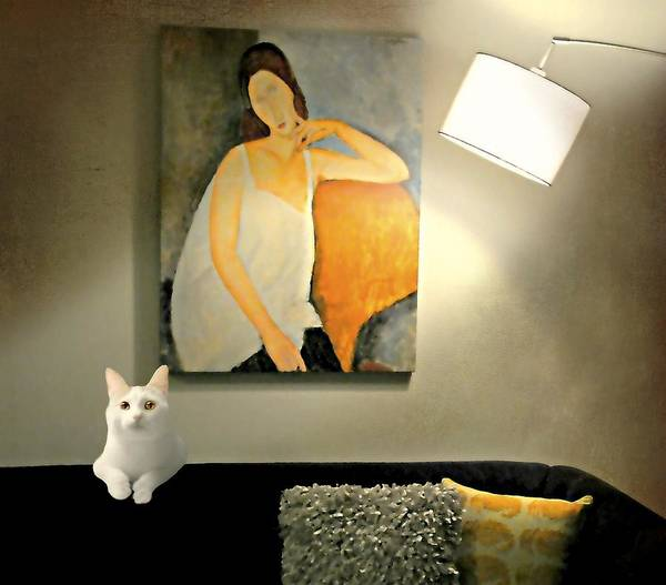 Wall Art - Photograph - The Pet Sitter by Diana Angstadt