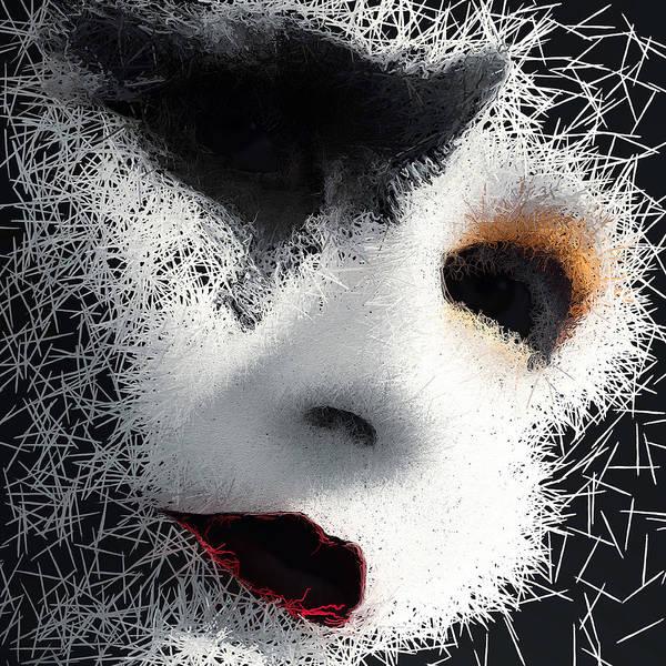 Digital Art - The Phantom Of The Arts by ISAW Company