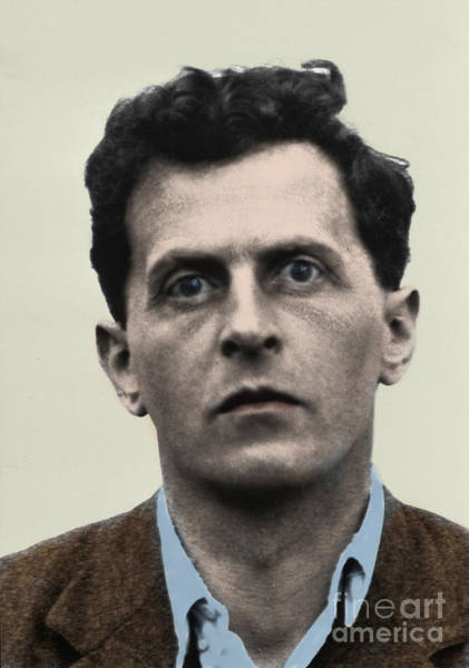 Wall Art - Photograph - The Philosopher Wittgenstein by English School