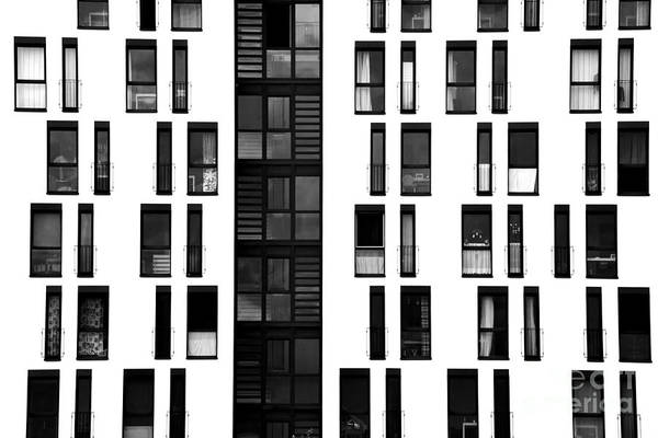 Wall Art - Photograph - The Photograph Of A Facade With by Bastian Kienitz