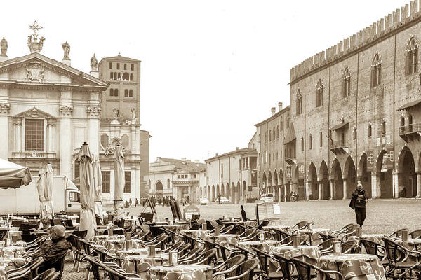 Wall Art - Photograph - The Piazza Sordello by W Chris Fooshee