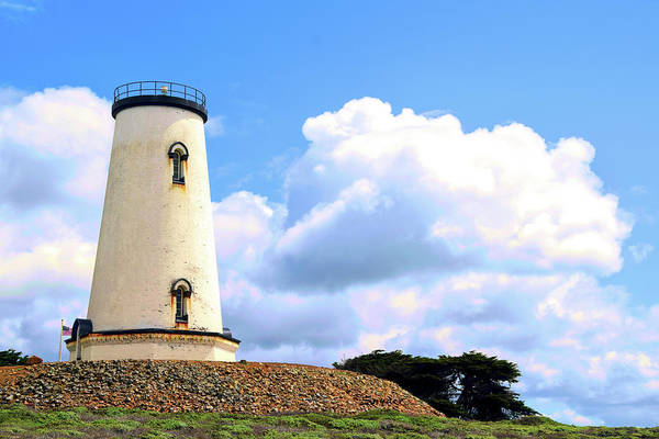 Photograph - The Piedras Blancas Lighthouse Clouds by Floyd Snyder