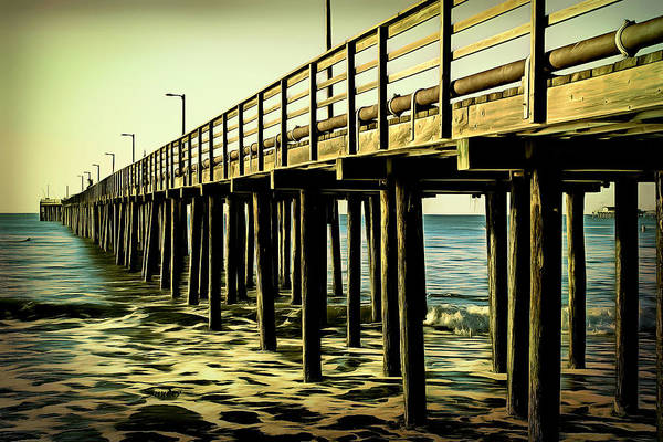 Photograph - The Pier At Avila Beach  by Barbara Snyder