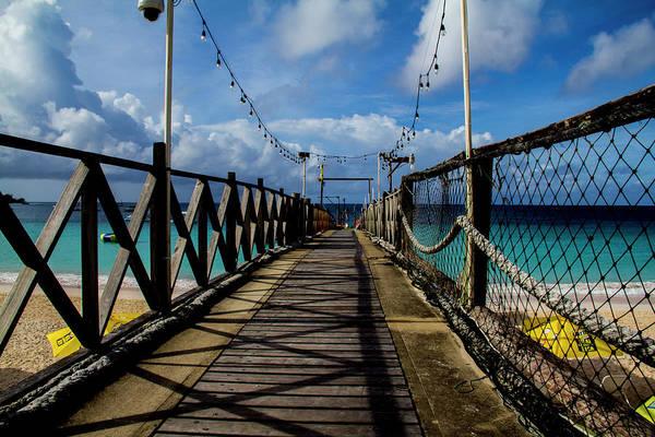 Photograph - The Pier by Stuart Manning