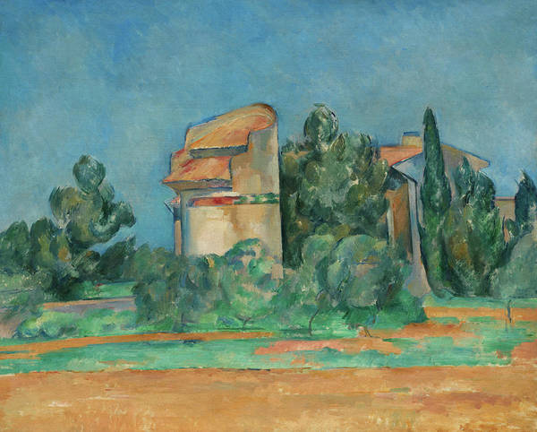 Wall Art - Painting - The Pigeon Tower At Bellevue, 1890 by Paul Cezanne