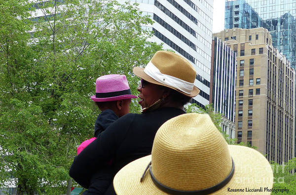 Photograph - The Pink Hat by Rosanne Licciardi