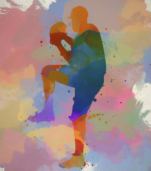 Wall Art - Painting - The Pitcher by Dan Sproul