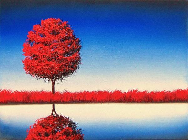 Wall Art - Painting - The Places Between by Rachel Bingaman