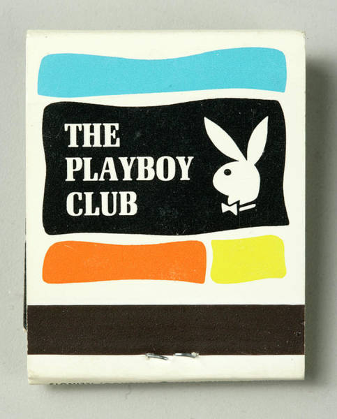 Merchandise Photograph - The Playboy Club Matchbook by The New York Historical Society