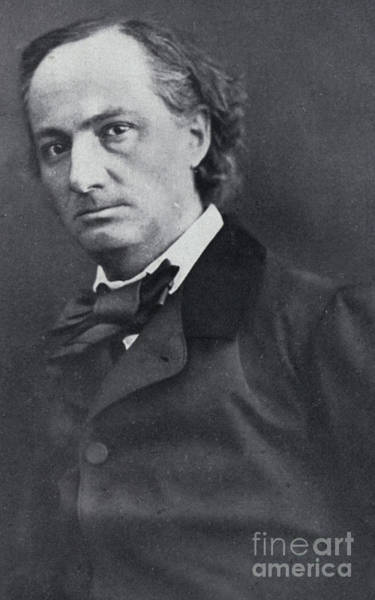 Wall Art - Photograph - The Poet Charles Baudelaire  Nadar Photo by Nadar