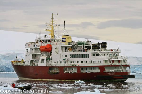 Wall Art - Photograph - The Polar Star Port Lockroy Antarctica by Greg Smith