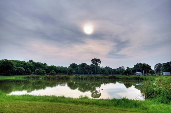 Collin Photograph - The Pond At Fox Lea Farm by By Jason Collin Photography