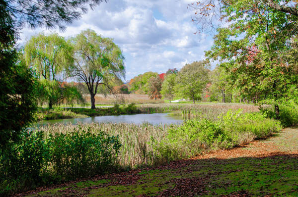 Wall Art - Photograph - The Pond At Val-kill - Hyde Park New York by Bill Cannon