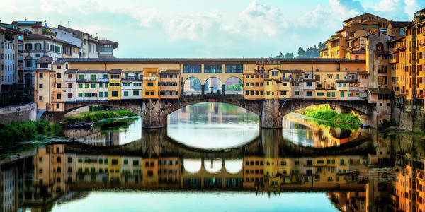 Photograph - The Ponte Vecchio - Florence, Italy by Nico Trinkhaus