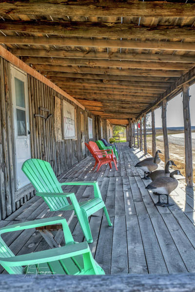 Photograph - The Porch by Jim Thompson