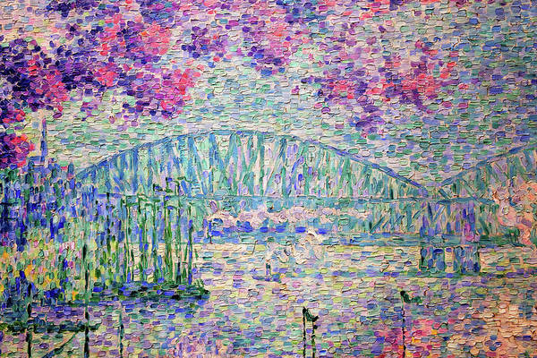 Wall Art - Painting - The Port Of Rotterdam, 1907 - Digital Remastered Edition by Paul Signac