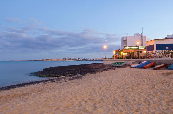 Canary Islands Photograph - The Port Of The Town by Maremagnum