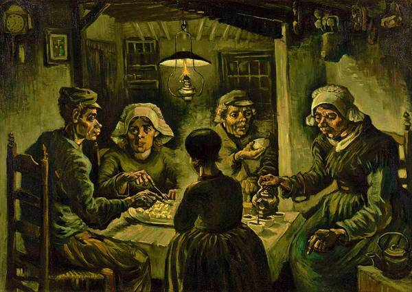 Needs Painting - The Potato Eaters - Digital Remastered Edition by Vincent van Gogh