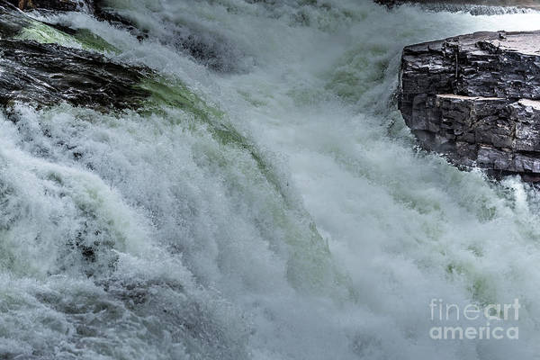 Photograph - The Power Of Water In Motion 3 by Matthew Nelson