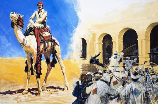 Camel Rider Painting - The Price Of Pride by Graham Coton