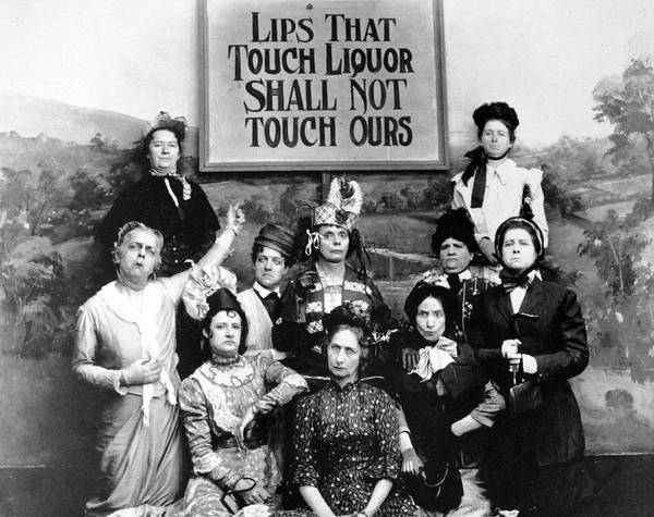 Photograph - The Prohibition Temperance League 1919 by Doc Braham
