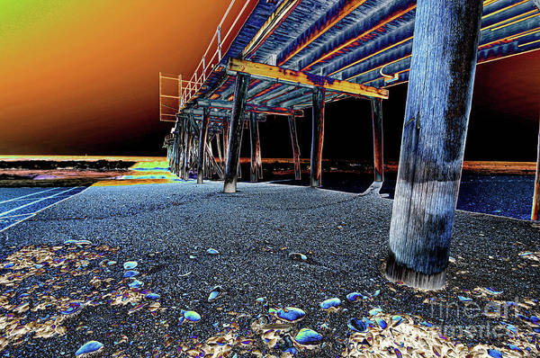 Wall Art - Photograph - The Psychedelic Pier by Paul Ward