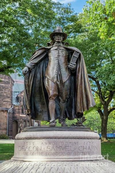 Wall Art - Photograph - The Puritan Statue by John Greim