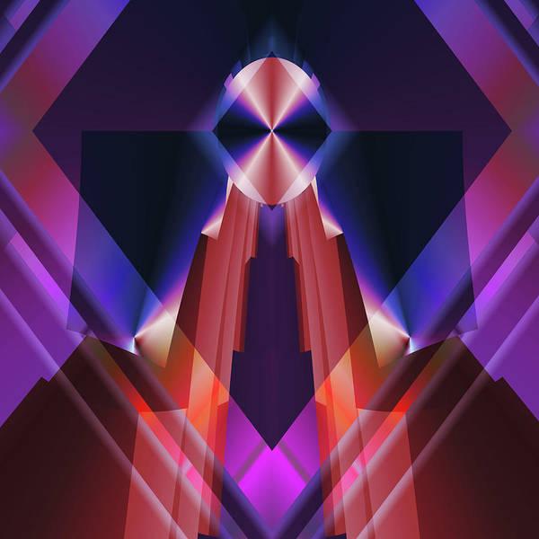 Digital Art - The Pyramid Eye by Mario Carini