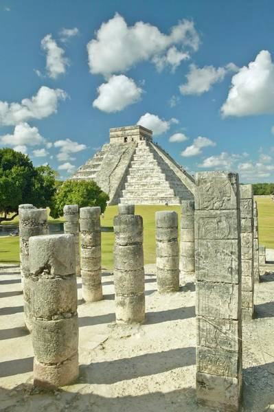 Chichen Itza Photograph - The Pyramid Of Kukulkan, Also Known As by Visionsofamerica/joe Sohm