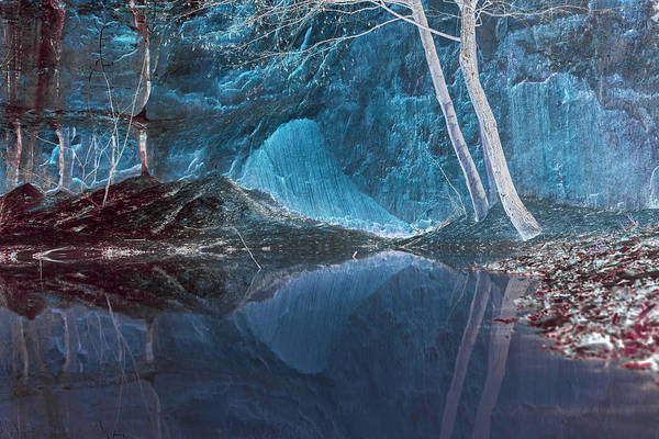 Photograph - The Quarry, Dieulefit by Jean Gill