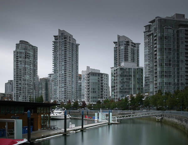 Photograph - The Quayside Marina - Yaletown Apartments Vancouver by Juan Contreras
