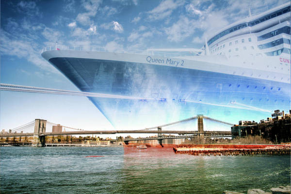 Wall Art - Photograph - The Queen Anne Docked In Brooklyn Ny by Geraldine Scull
