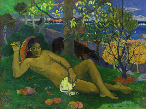 Wall Art - Painting - The Queen, The King's Wife, 1896 by Paul Gauguin