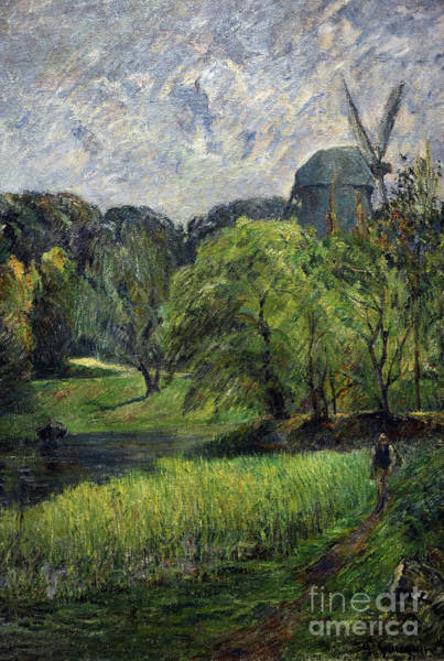 Wall Art - Painting - The Queens Mill by Paul Gauguin