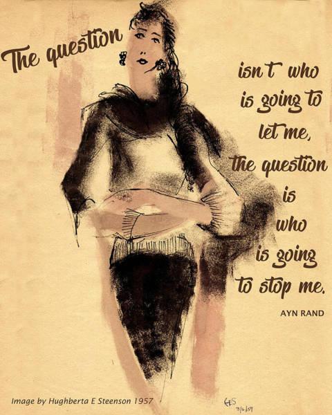 The Question Art Print
