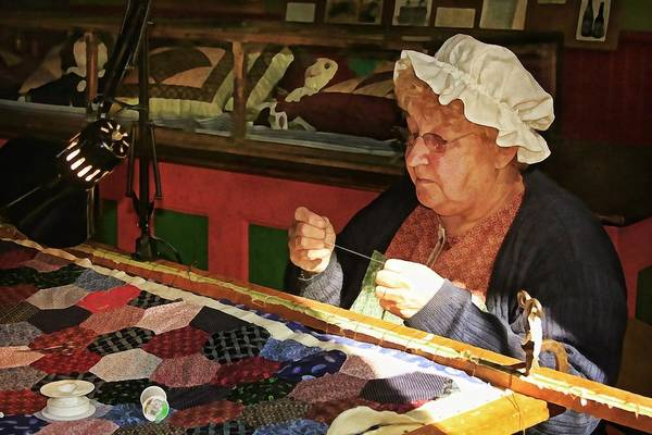 Photograph - The Quilt Maker by Tatiana Travelways