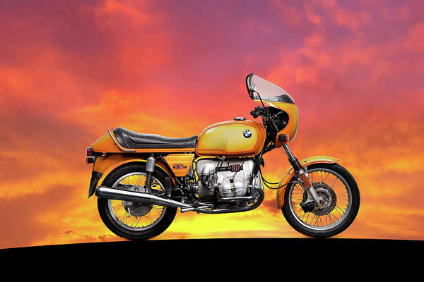 Wall Art - Photograph - The R90s At Sunset by Mark Rogan