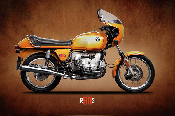 Photograph - The R90s Motorcycle by Mark Rogan