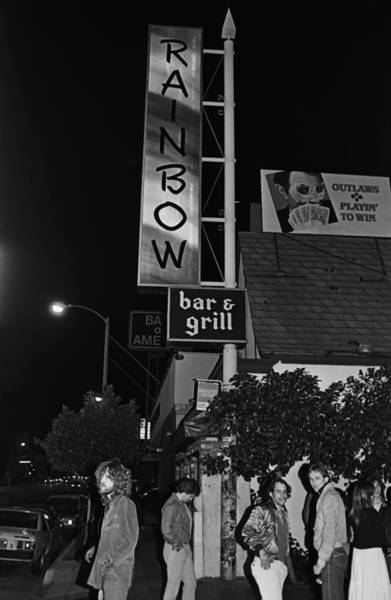 Photograph - The Rainbow Bar & Grill In West by George Rose