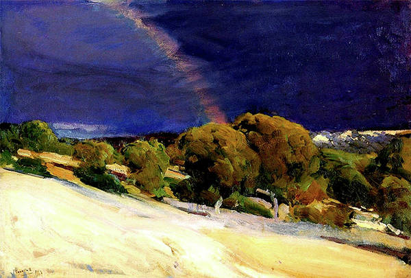 Painting - The Rainbow by Juaquin Sorolla