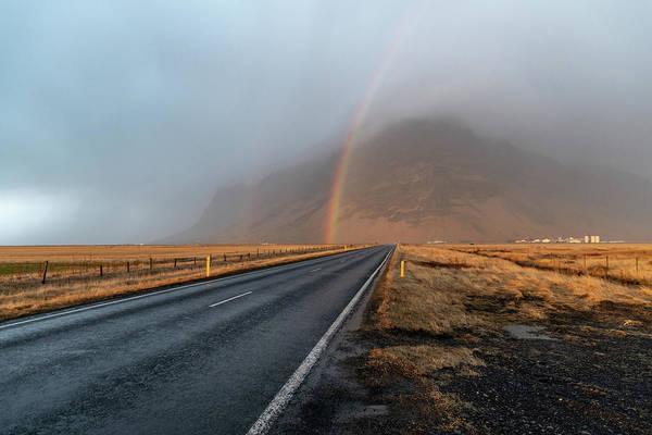 The Rainbow Road Art Print