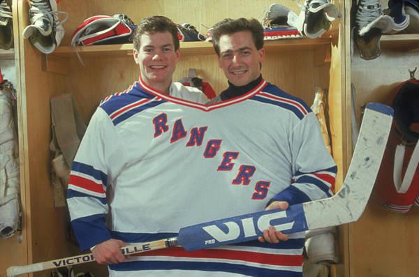 Hockey Photograph - The Ranges Giant Goalkeeper by B Bennett