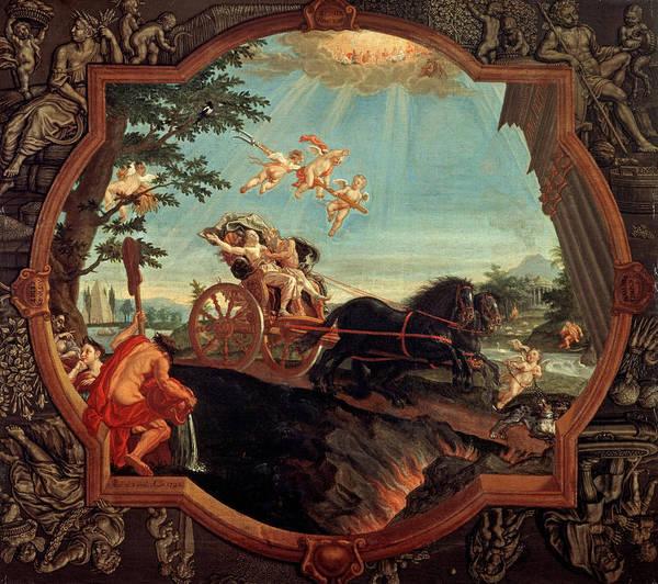 Wall Art - Painting - The Rape Of Proserpine, 1720 by John Alexander