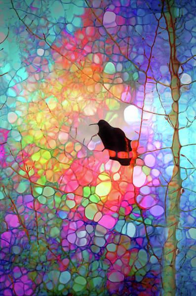 Digital Art - The Raven by Tara Turner