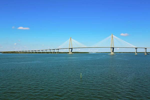 South Carolina Photograph - The Ravenel Bridge by Daniela Duncan