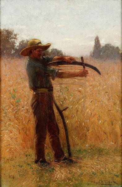 The Shepherdess Wall Art - Painting - The Reaper by Eastman Johnson