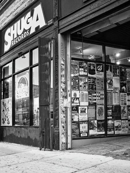 Wall Art - Photograph - The Record Deal Shuga Records by William Dey