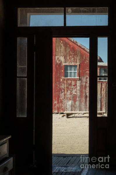 Wall Art - Photograph - The Red Barn by Sandra Bronstein